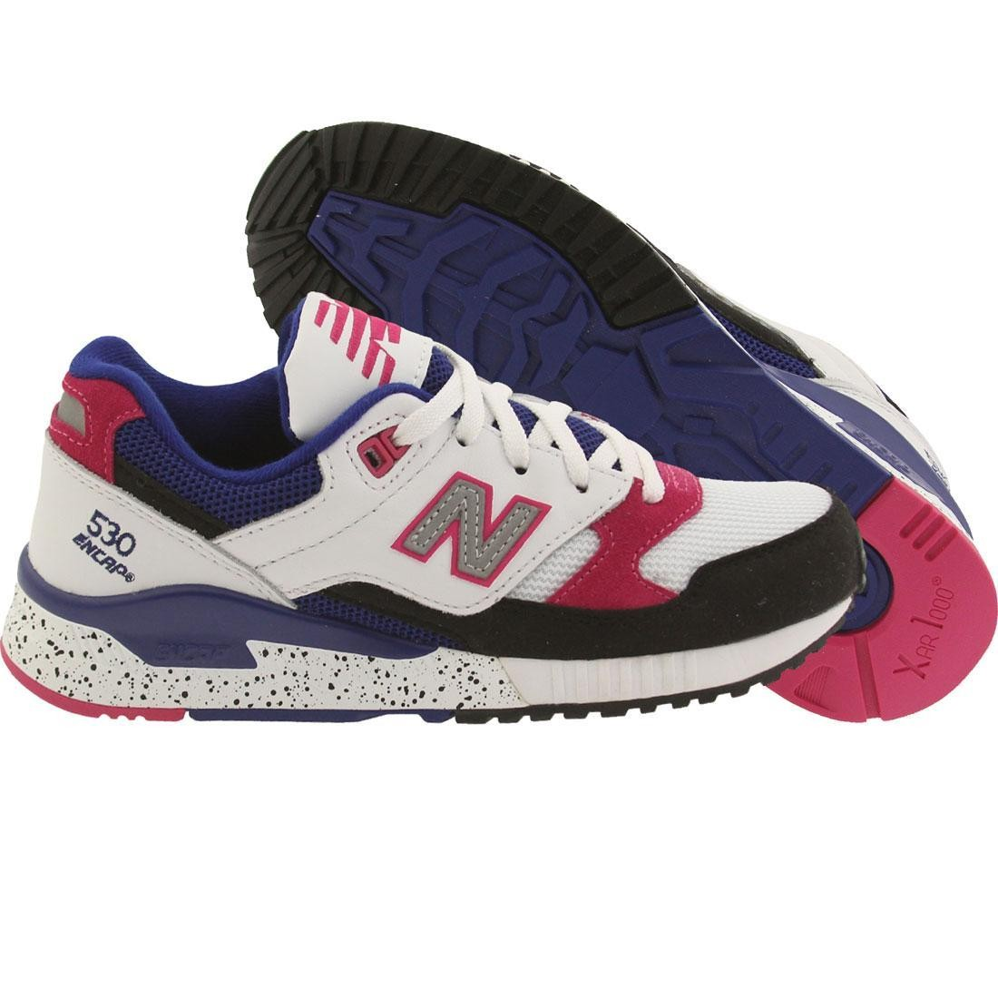 ... coupon new balance women 530 90s running leather w530psa white black  carnival pink 93a7e bfa31 27647c2b18