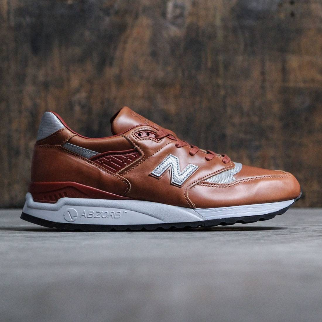 best service 6aba4 96432 New Balance Men 998 Age of Exploration M998BESP - Made In USA (brown /  silver)