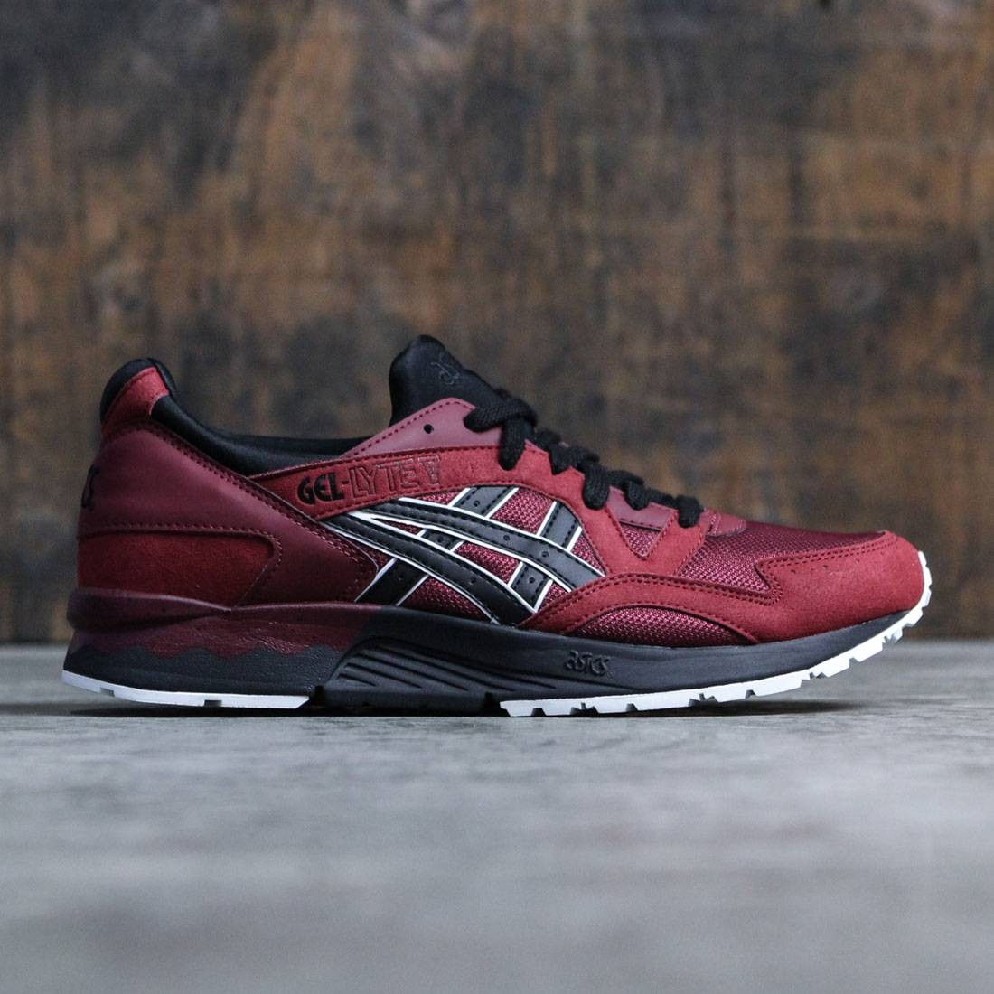 dcd256a57dc5 Asics Tiger Men Gel-Lyte V red pomegranate black