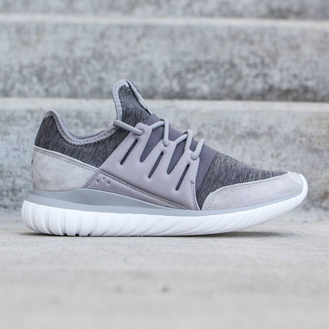 1d64cac6c5ee Adidas Men Tubular Radial gray ch solid grey granite