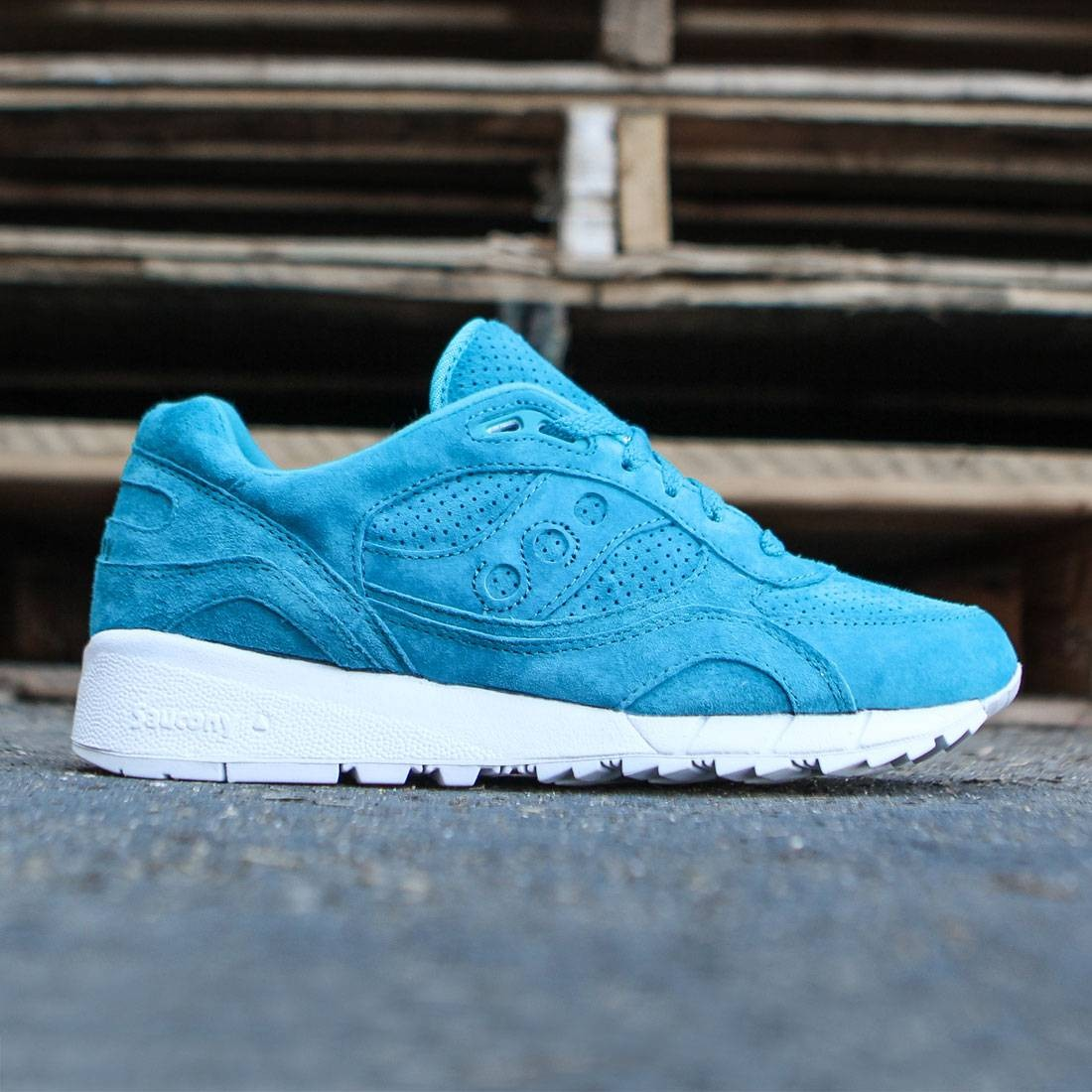 575562388805 Saucony Men Shadow 6000 Premium blue   emerald