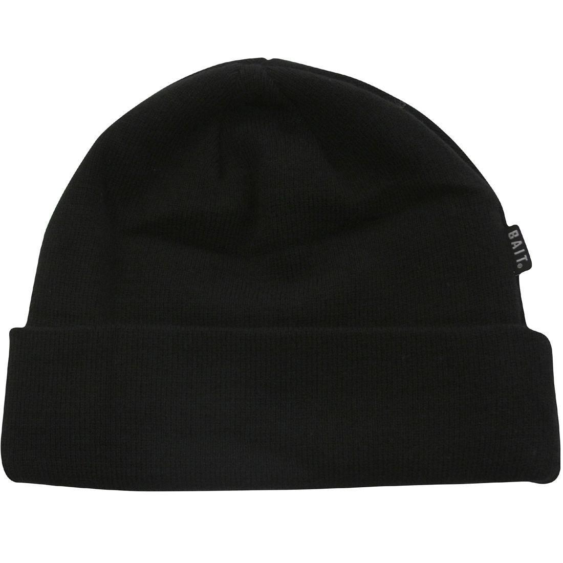 BAIT Folded Beanie (black)