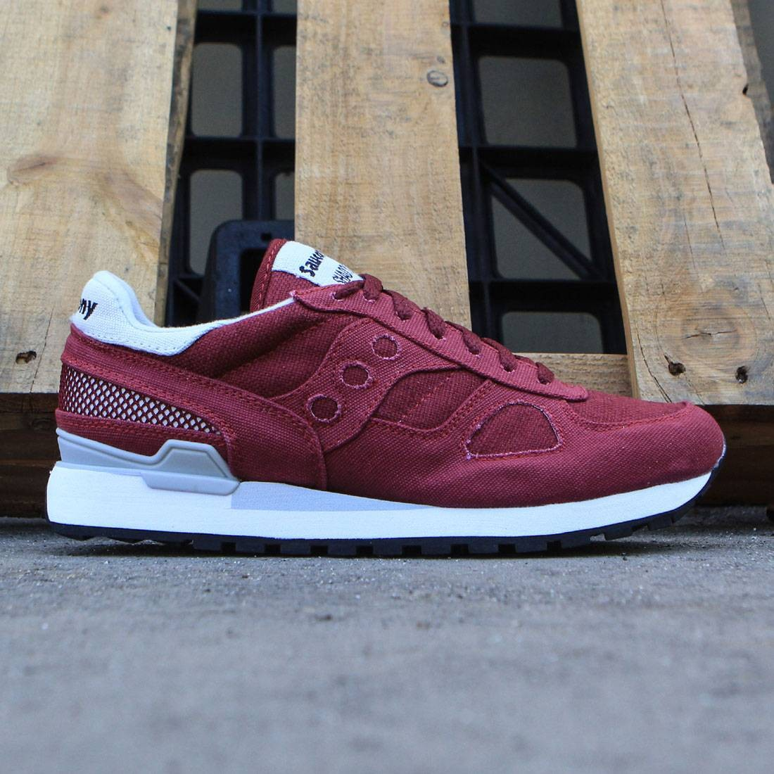 Saucony Shadow 5000 Trainer Burgundy