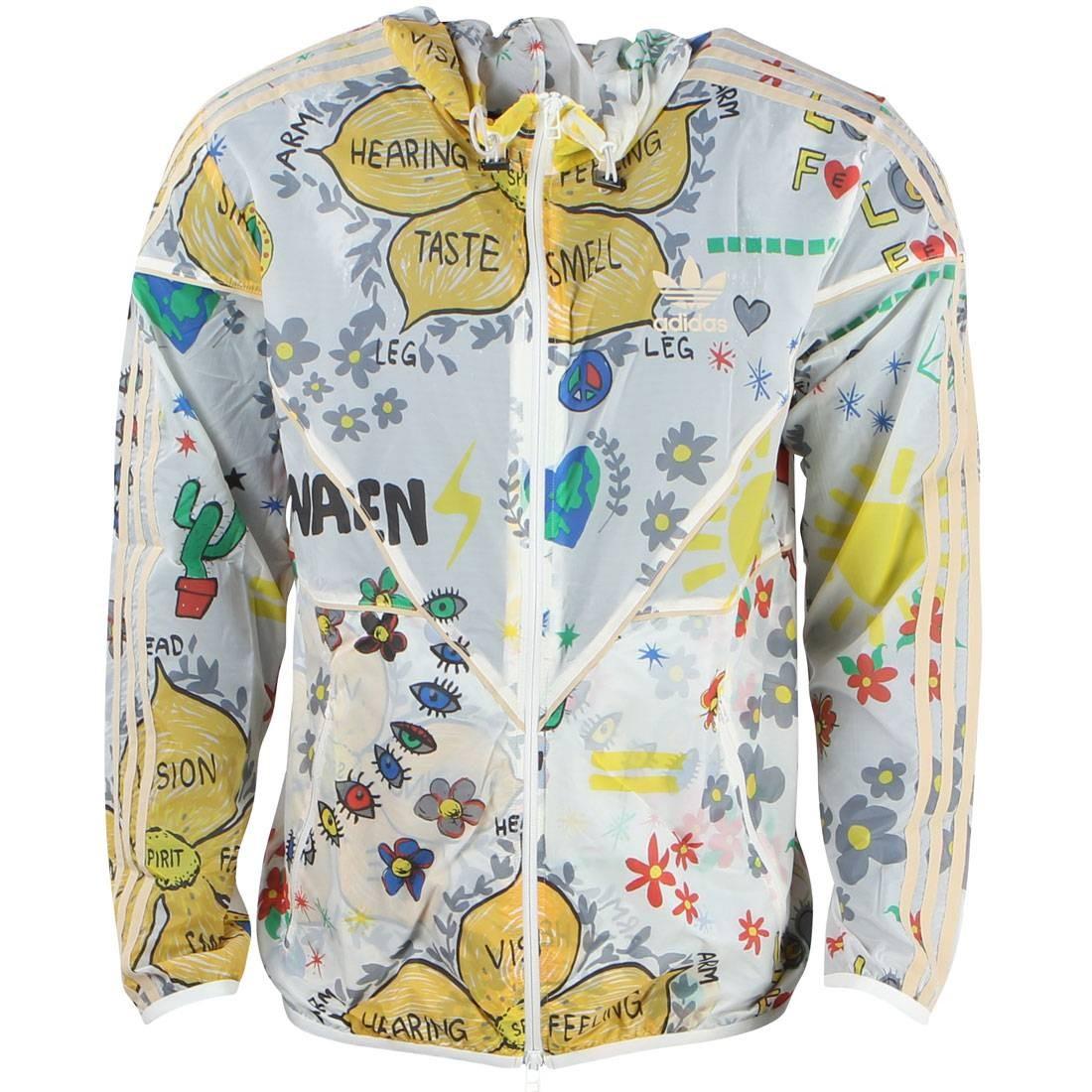 Adidas Consortium x Pharrell Williams Men Windbreaker Jacket (white)