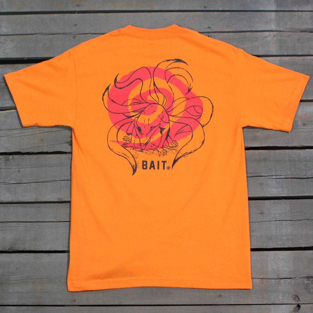 BAIT x Naruto Men Nine Tailed Beast Tee (orange)