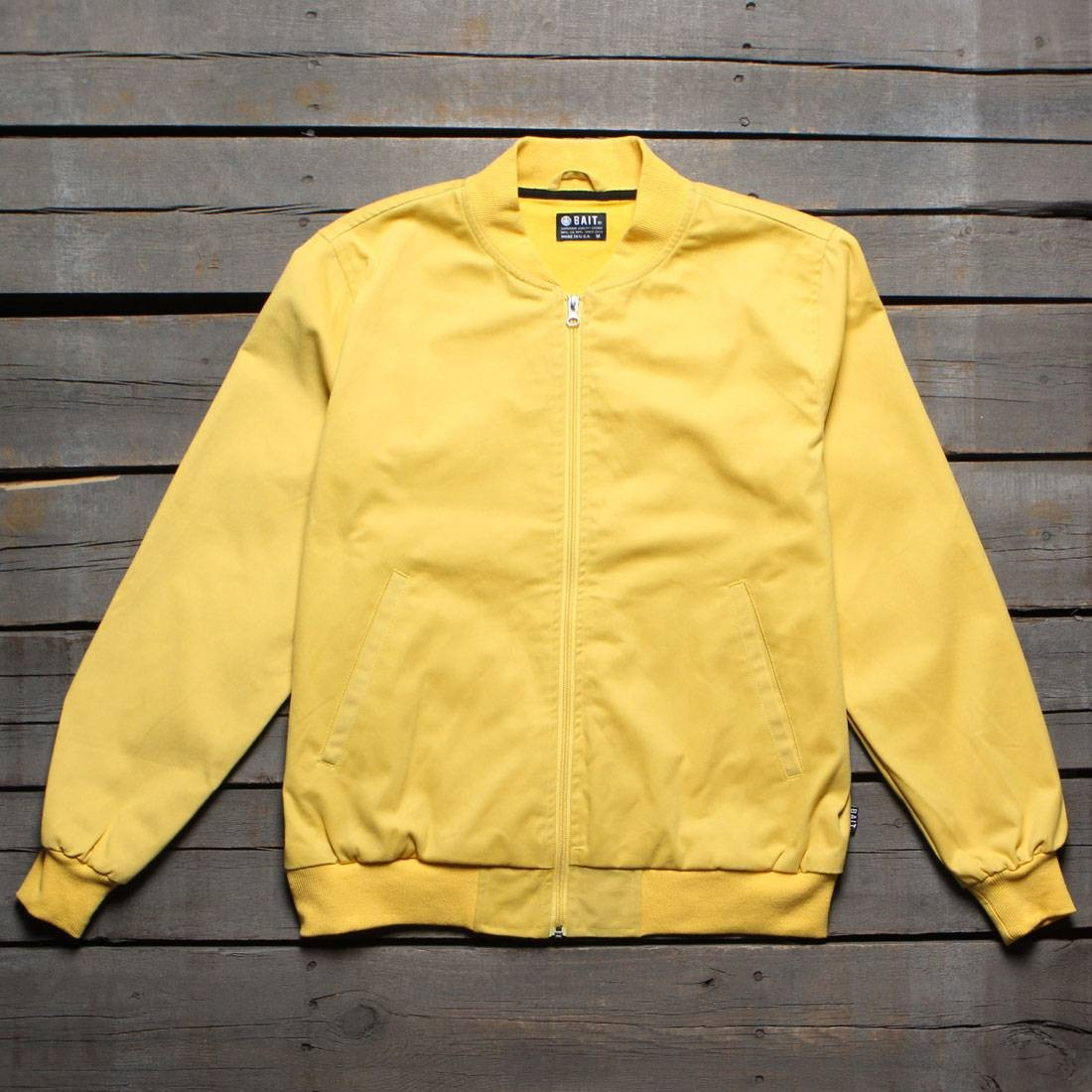 BAIT Men Canvas Jacket - Made In LA (yellow)