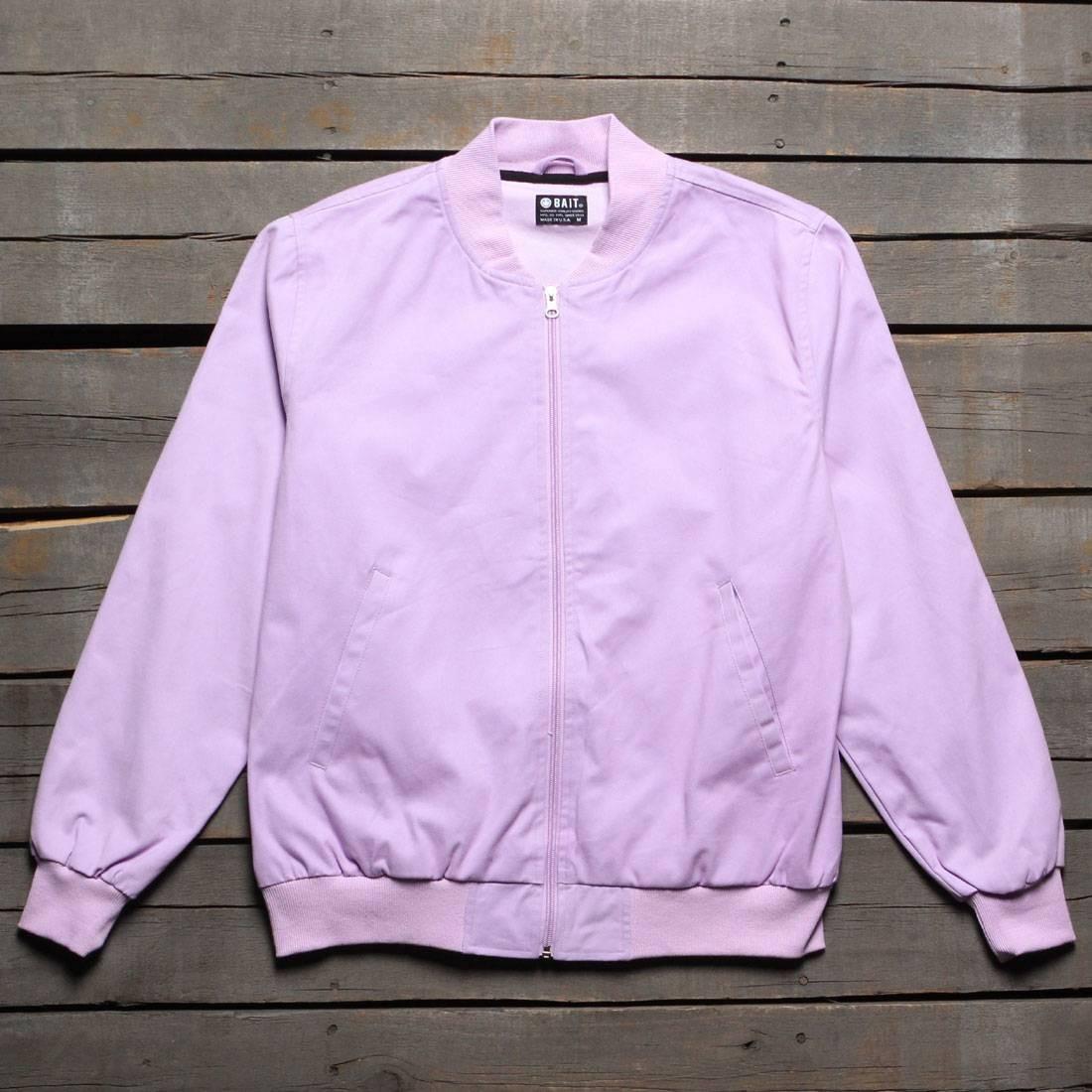 BAIT Men Canvas Jacket - Made In LA (purple / lavender)