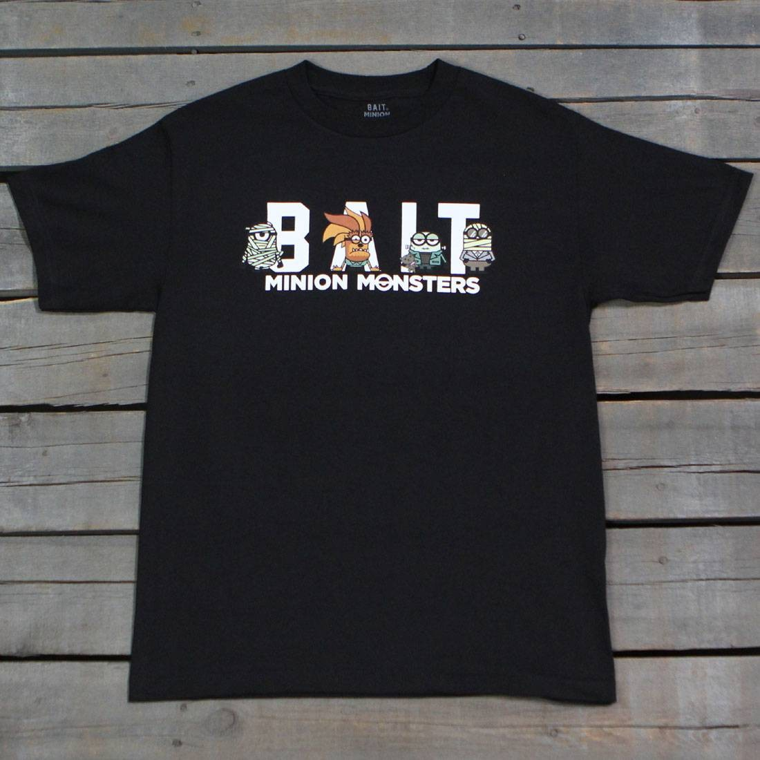 BAIT x Minion Monsters Men Group Tee (black)