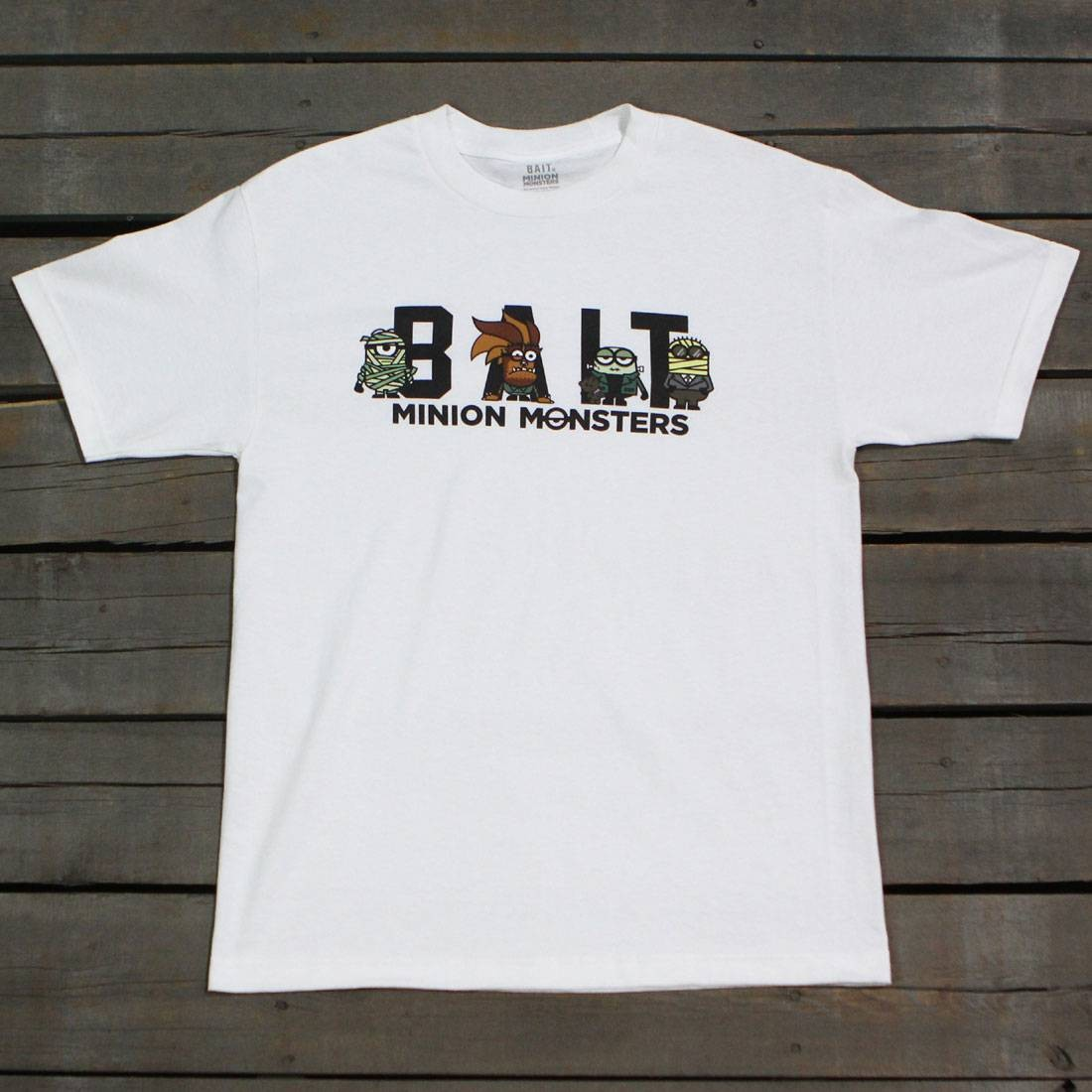 BAIT x Minion Monsters Men Group Tee (white)