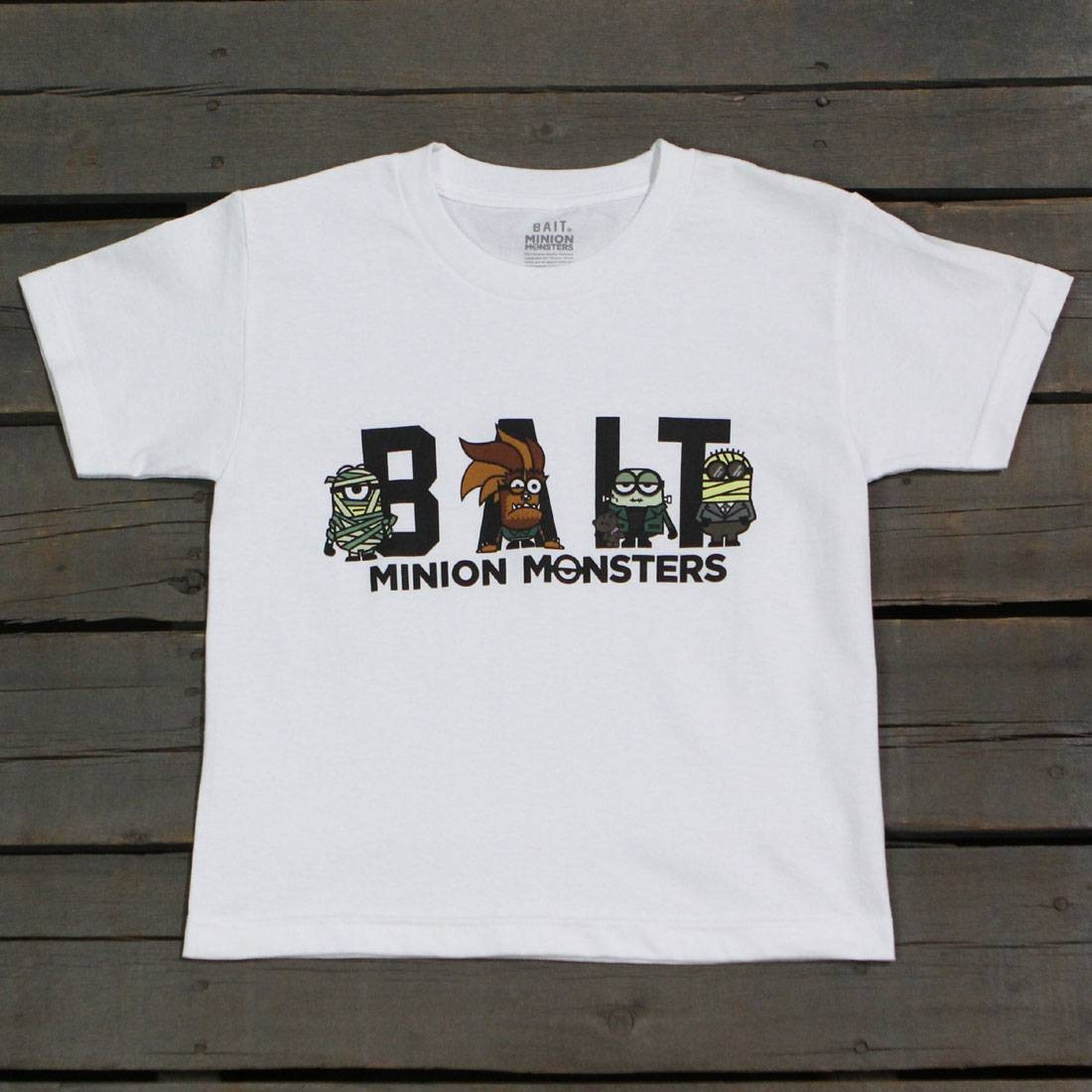 BAIT x Minion Monsters Women Group Tee (white)