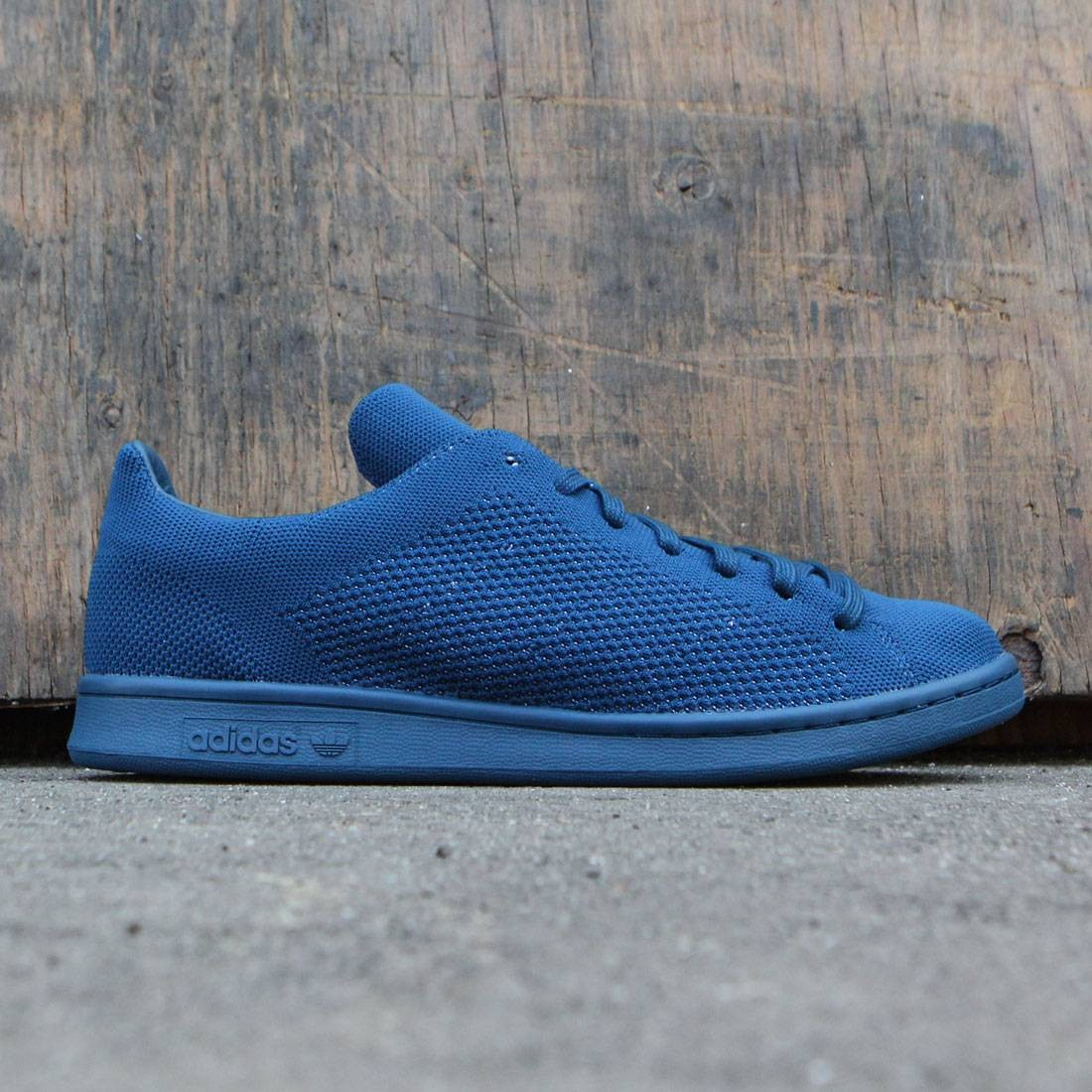 new product f04e7 69854 Adidas Men Stan Smith Primeknit (navy / tech steel)
