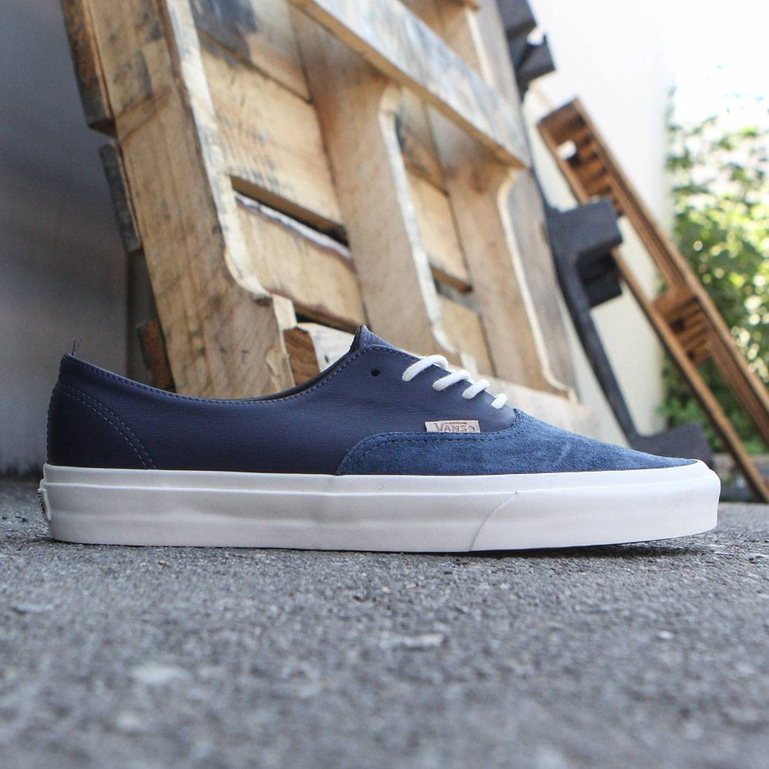Vans Men Authentic Deconstructed DX - Pig Suede (navy / parisian night)