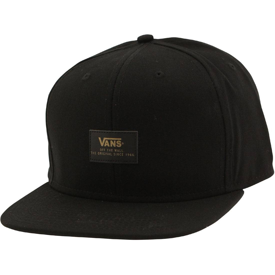 cd3a5473ad704 Vans 50th Anniversary 6 Panel Snapback Cap black