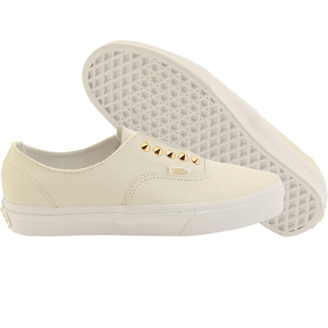 Vans Women Authentic Gore - Studs (white / true white leather)