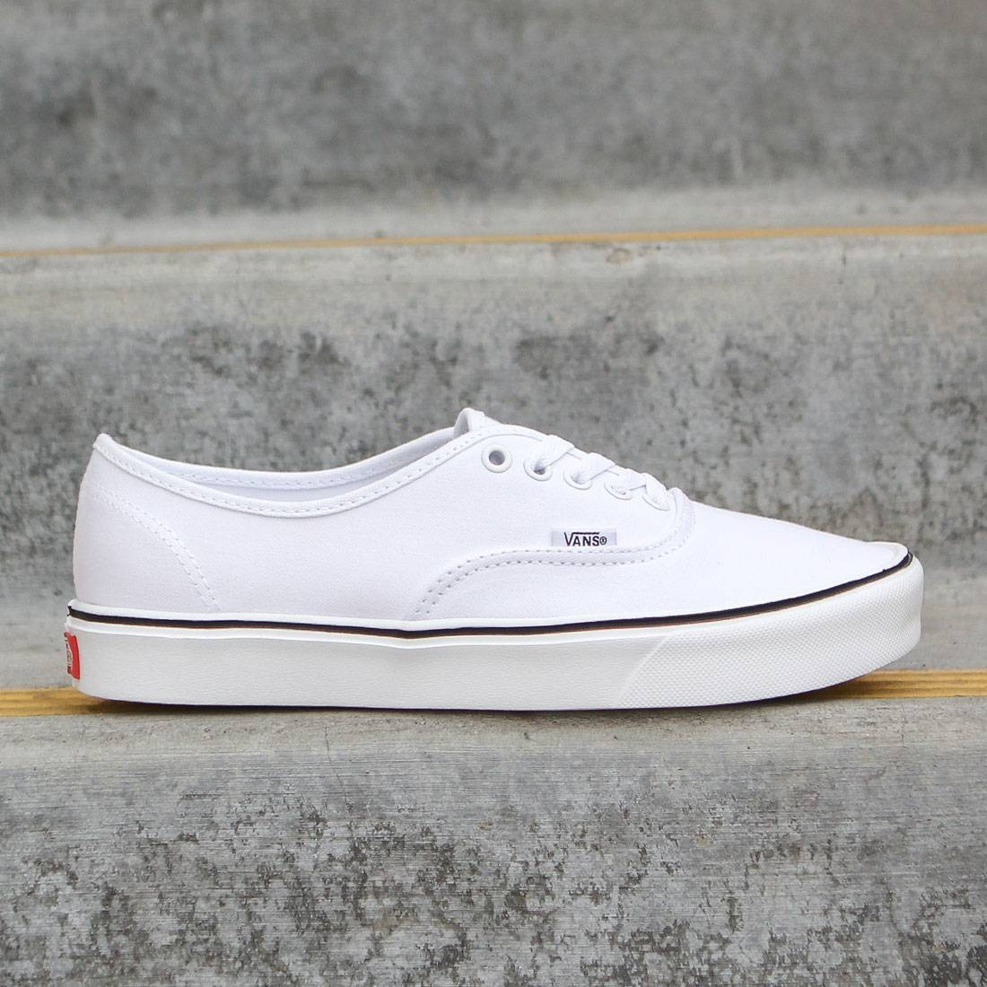 d93529dd45 Vans Men Authentic Lite Plus - Canvas white true white