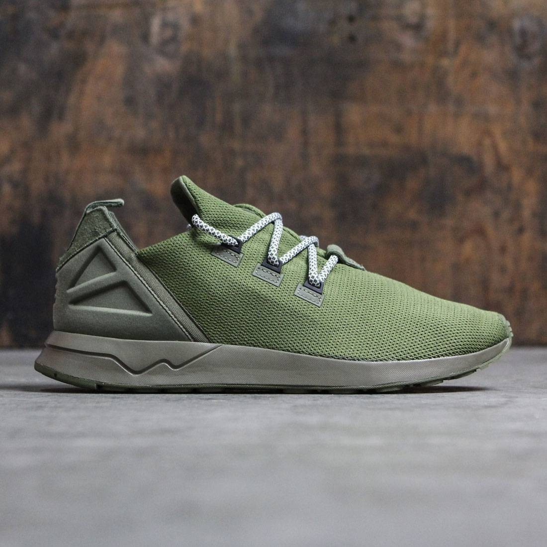 new products ceff3 05d18 Adidas Men ZX Flux ADV X (olive / olive cargo / core black / footwear white)