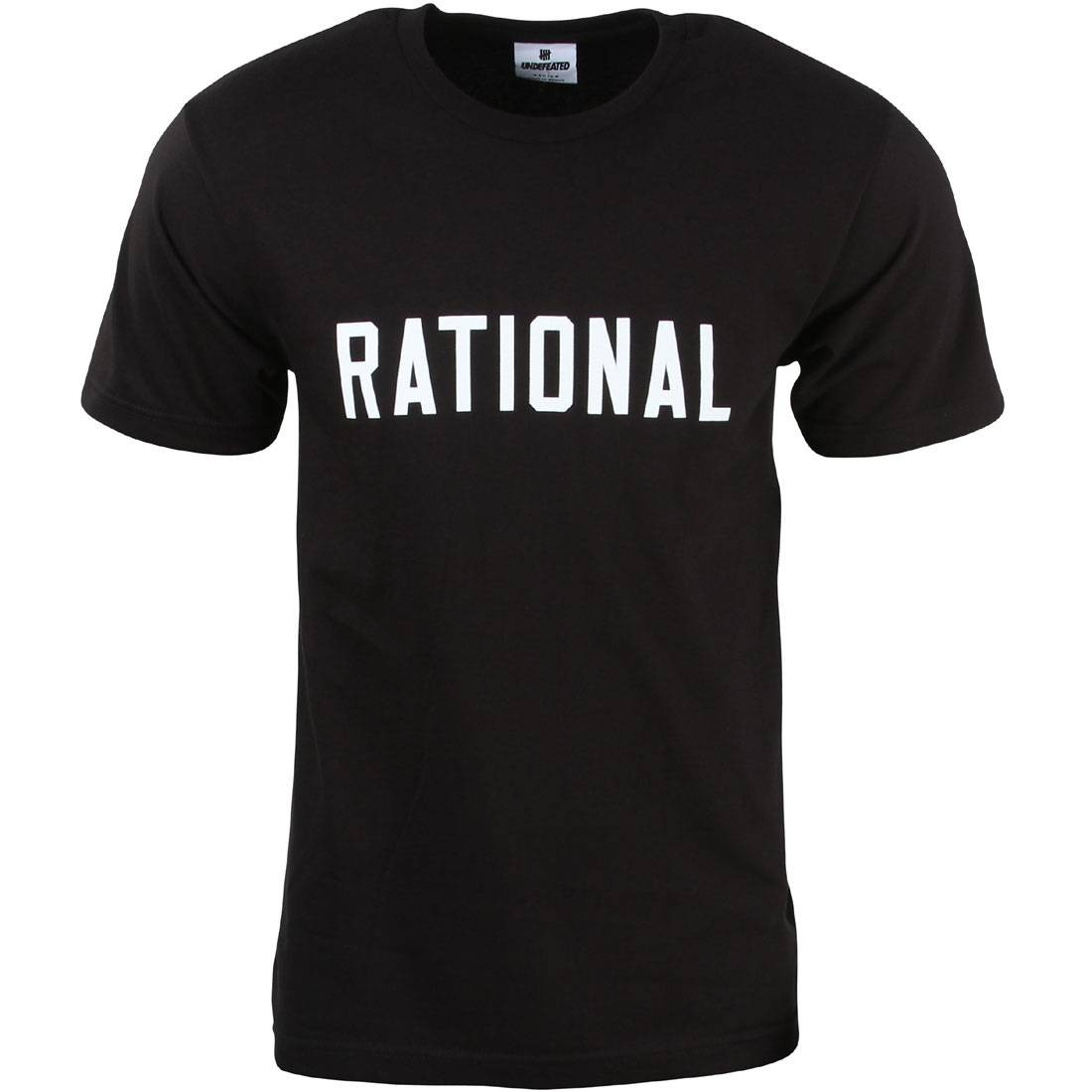 Undefeated Men Rational Tee (black)