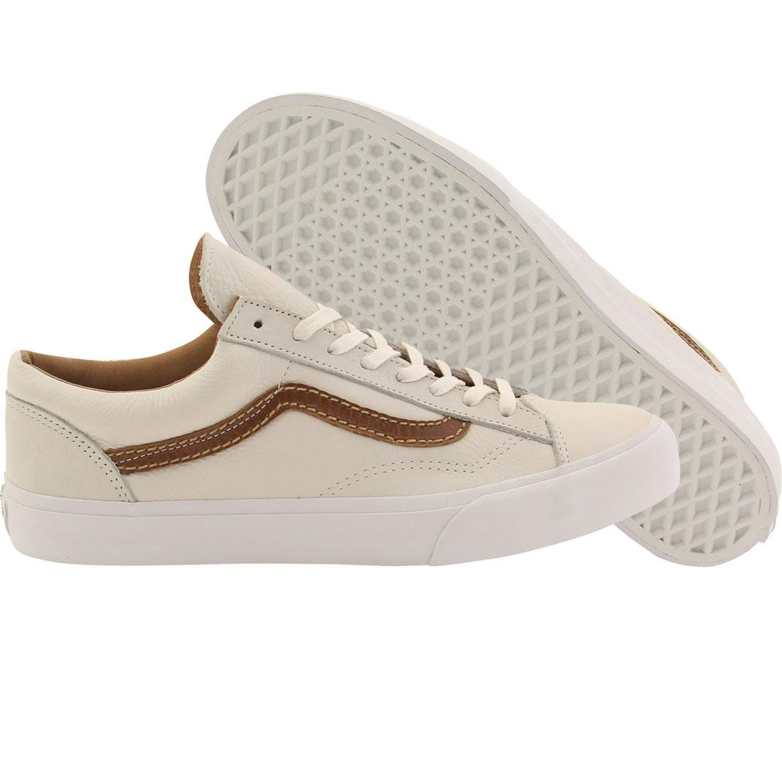 Vans Men Style 36 CA Premium Leather (white / winter white)