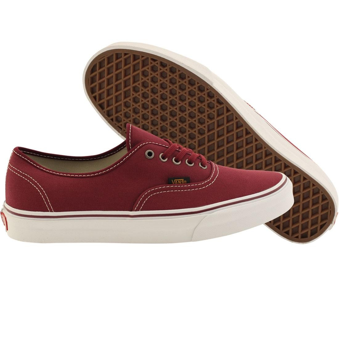 Vans Men Authentic - Surplus (burgundy / port royale)