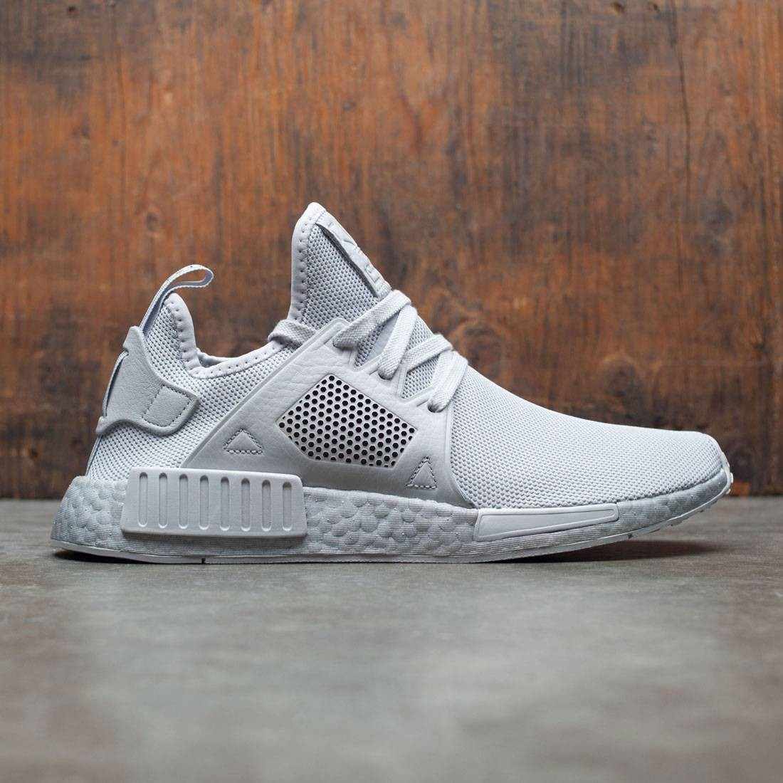 Adidas Men NMD XR1 gray Grau two silver metallic metallic silver cf162c