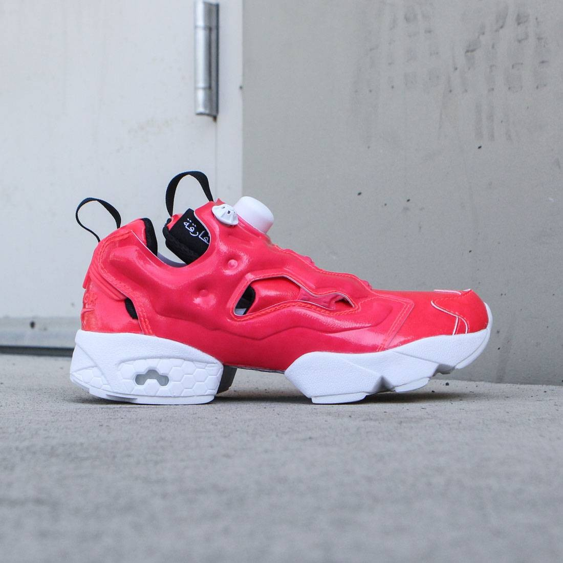 10efc9f9929e Reebok Women InstaPump Fury Overbranded pink neon cherry white black