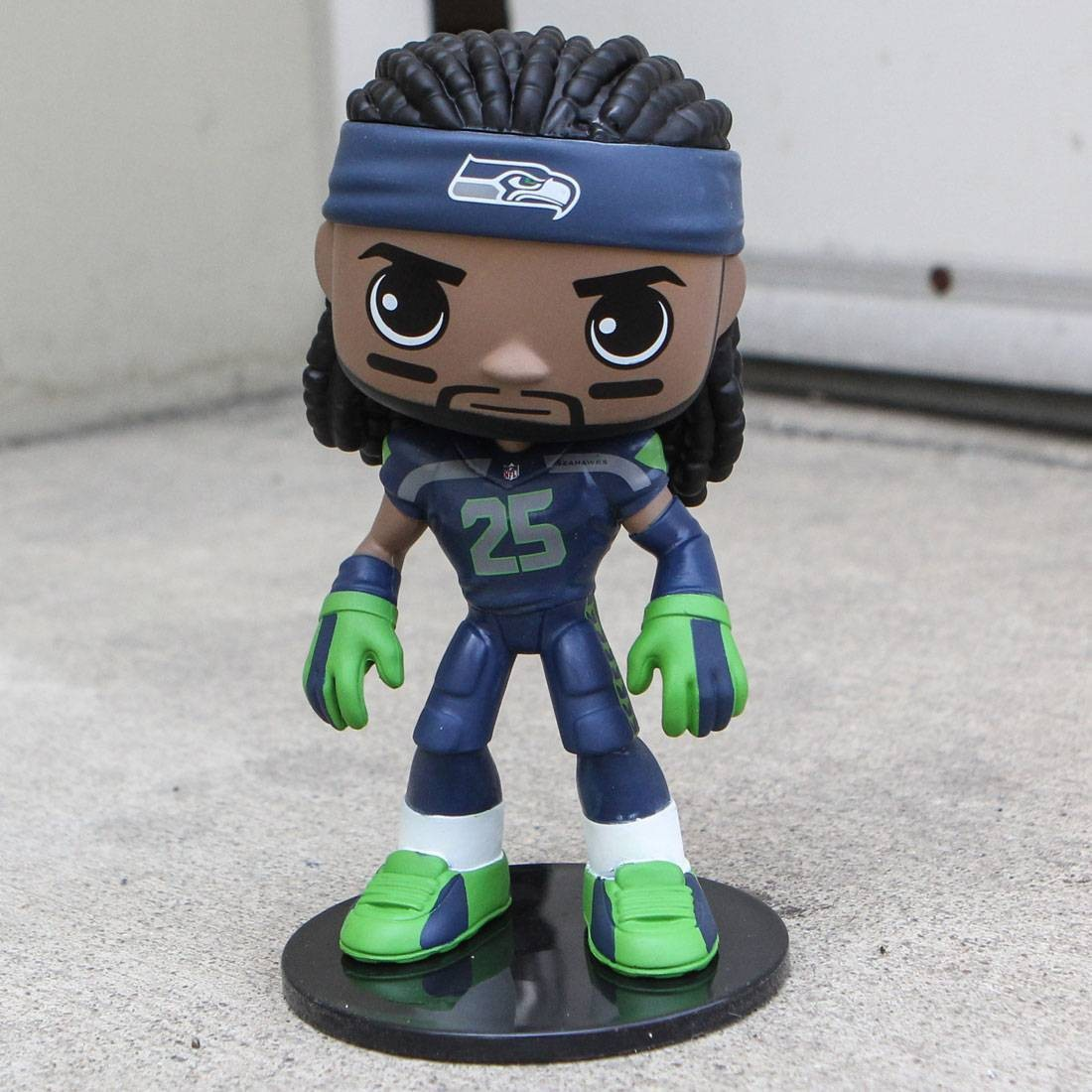 Funko Wobblers NFL Seattle Seahawks Richard Sherman Bobble Head (navy)