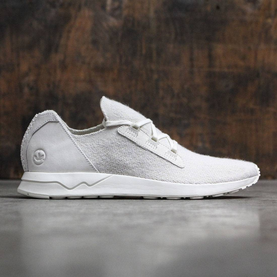 pretty nice cc190 95f3e Adidas Consortium x Wings And Horns Men ZX Flux Primeknit white off white