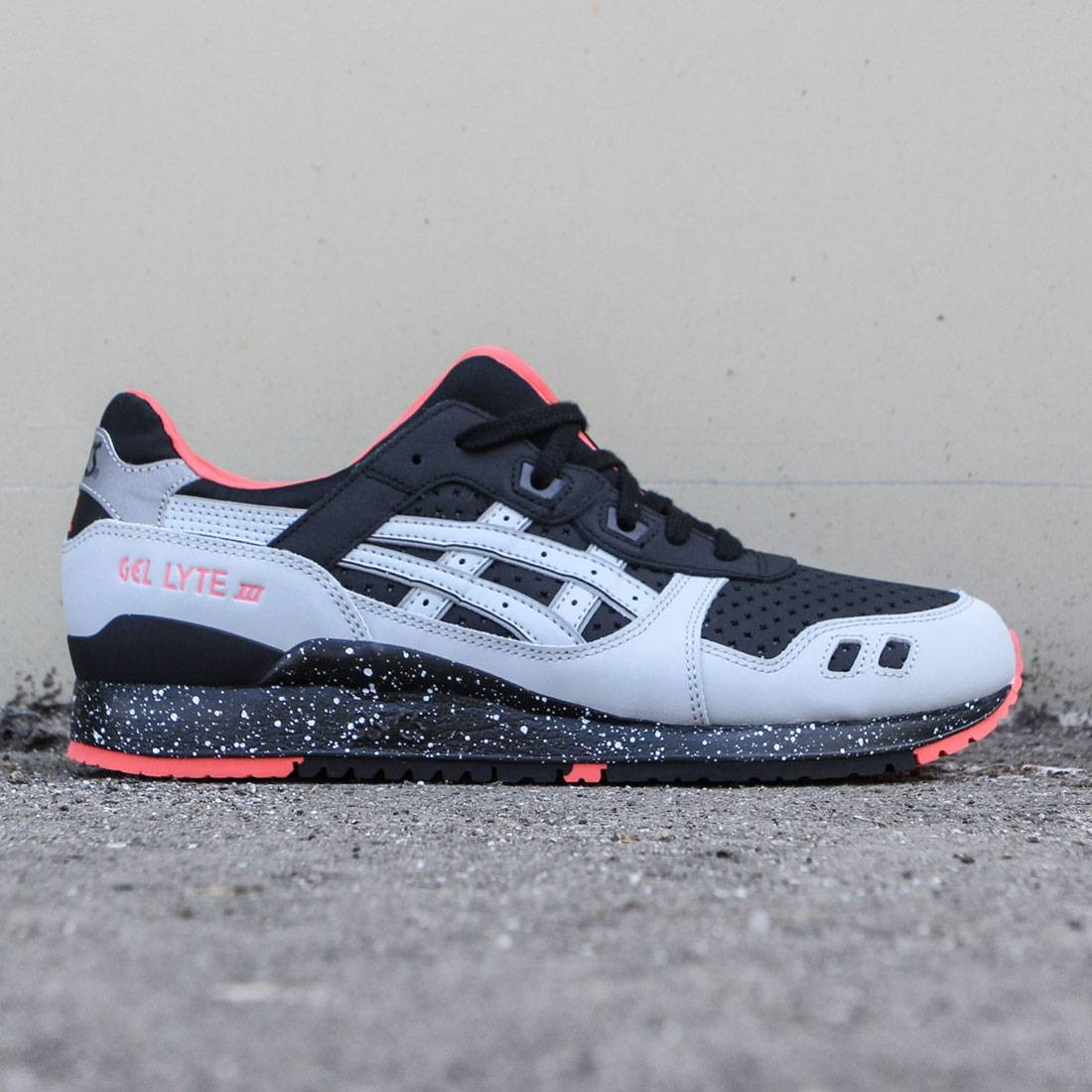 size 40 f1983 3757f Asics Tiger Men Gel-Lyte III (black / light grey)