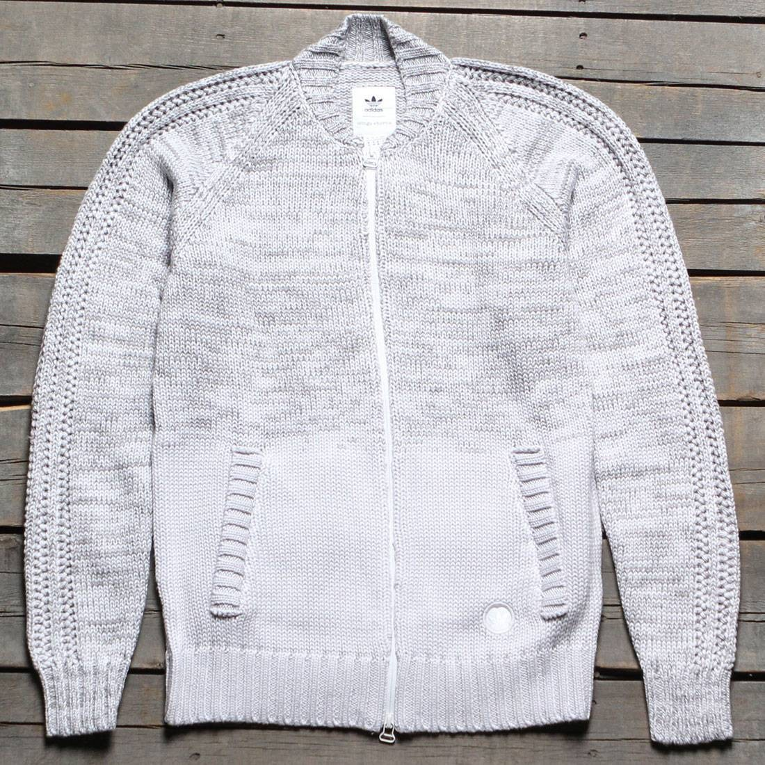 Adidas Consortium x Wings And Horns Men Ombre Tracktop Jacket (white / off white)