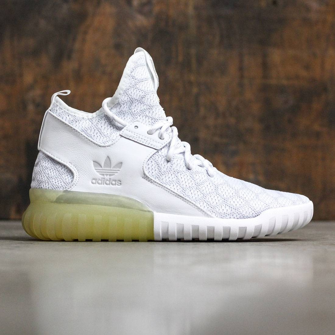 another chance cf3e6 776e1 Adidas Men Tubular X Primeknit (grey / white / light solid grey)