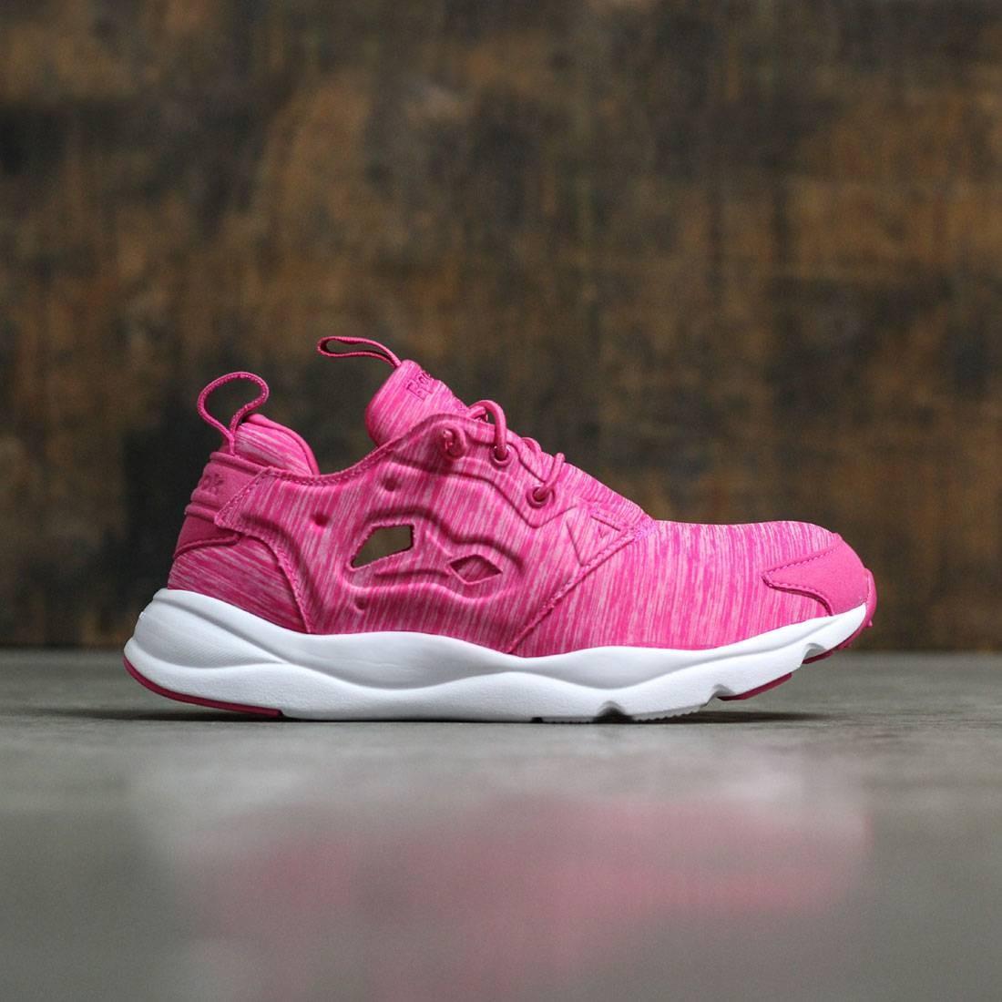 db7101d876c Reebok Women Furylite Jersey Pack pink rose rage white