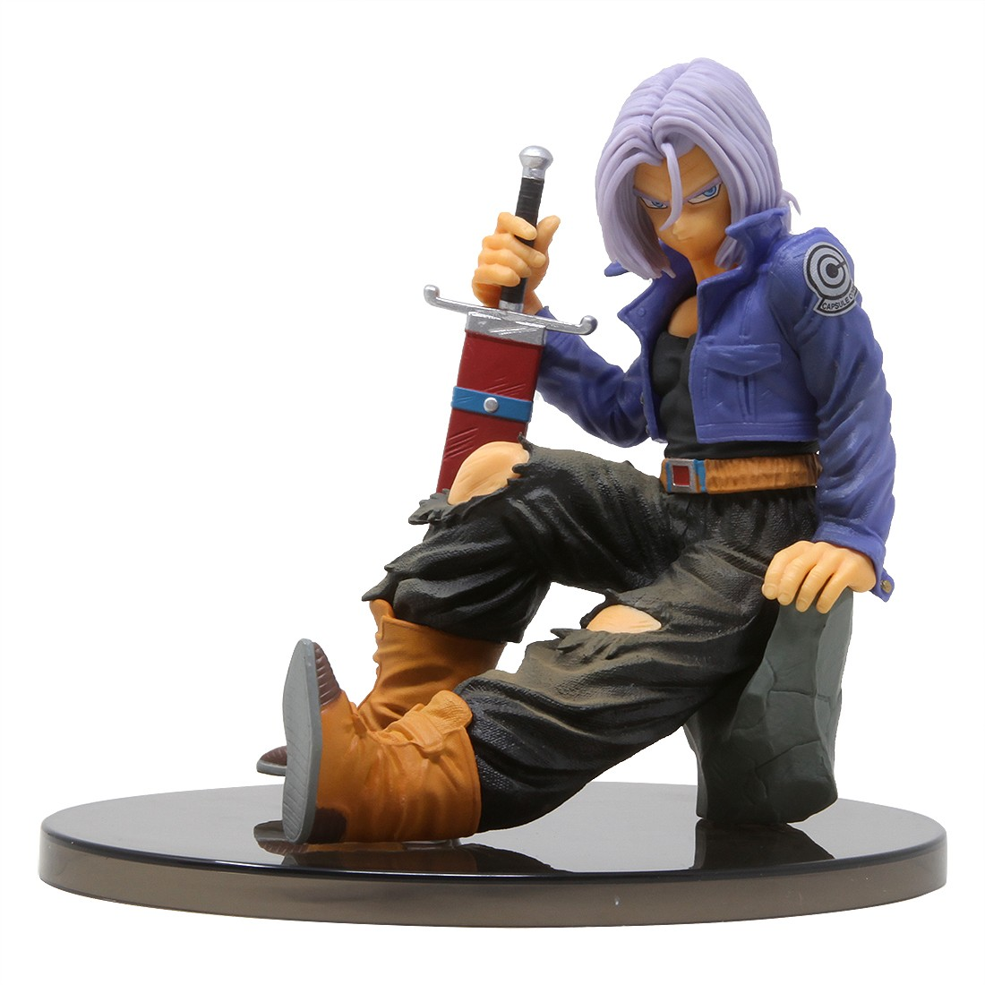 Banpresto Dragon Ball Z Banpresto World Figure Colosseum 2 Vol. 8 Trunks Figure (blue)