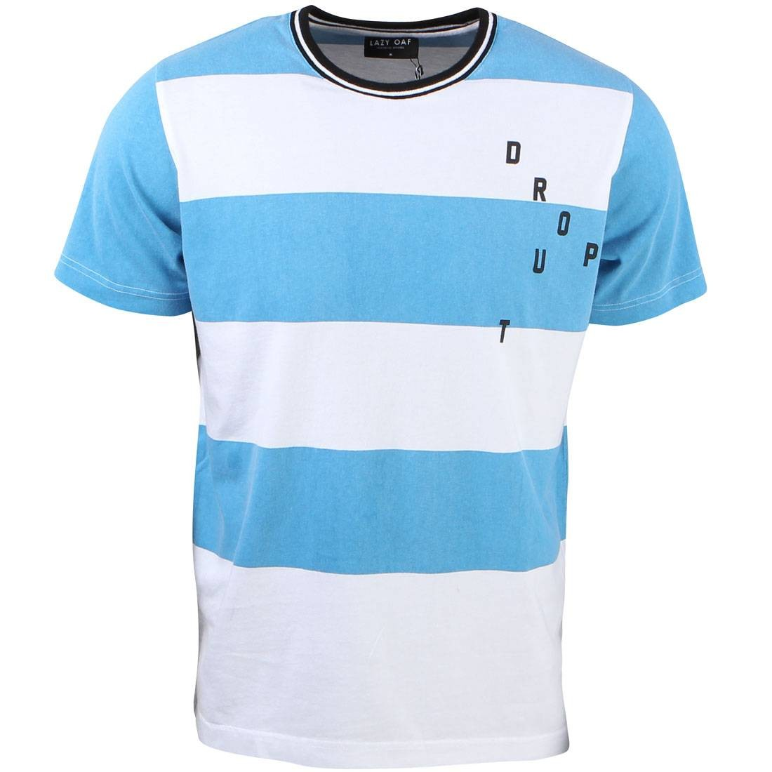 Lazy Oaf Men Dropout Tee (blue)