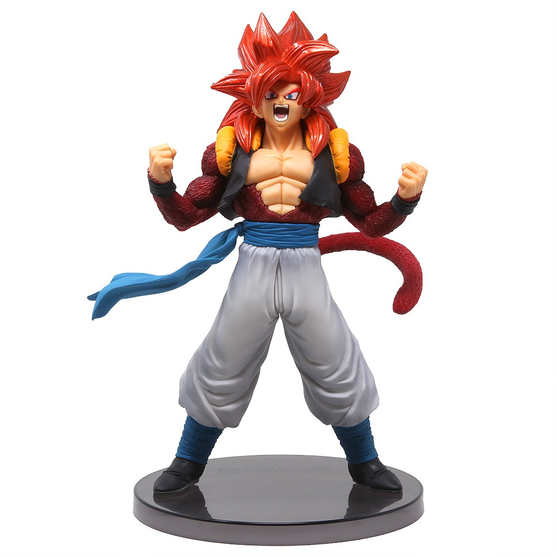 Banpresto Dragon Ball Gt Blood Of Saiyans Special Ver 5 Super Saiyan 4 Gogeta Figure Red