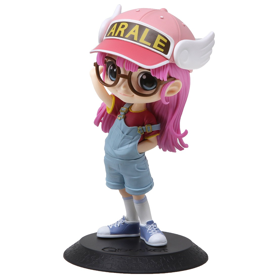 Banpresto Q Posket Dr. Slump Arale-Chan Arale Norimaki Figure - Ver. B (pink)