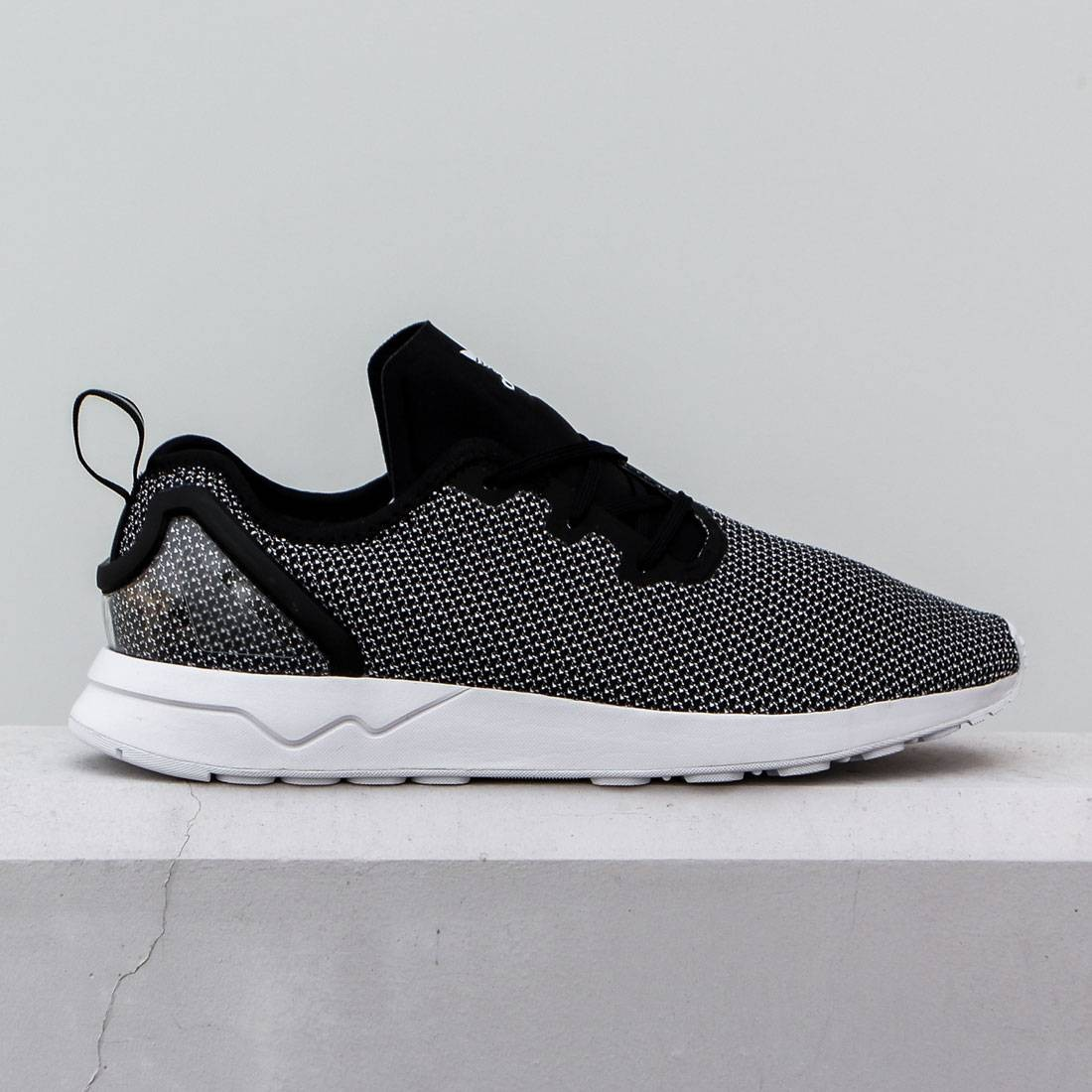first rate 4a86a 7c062 Adidas Men ZX Flux ADV Asymmetrical white core black