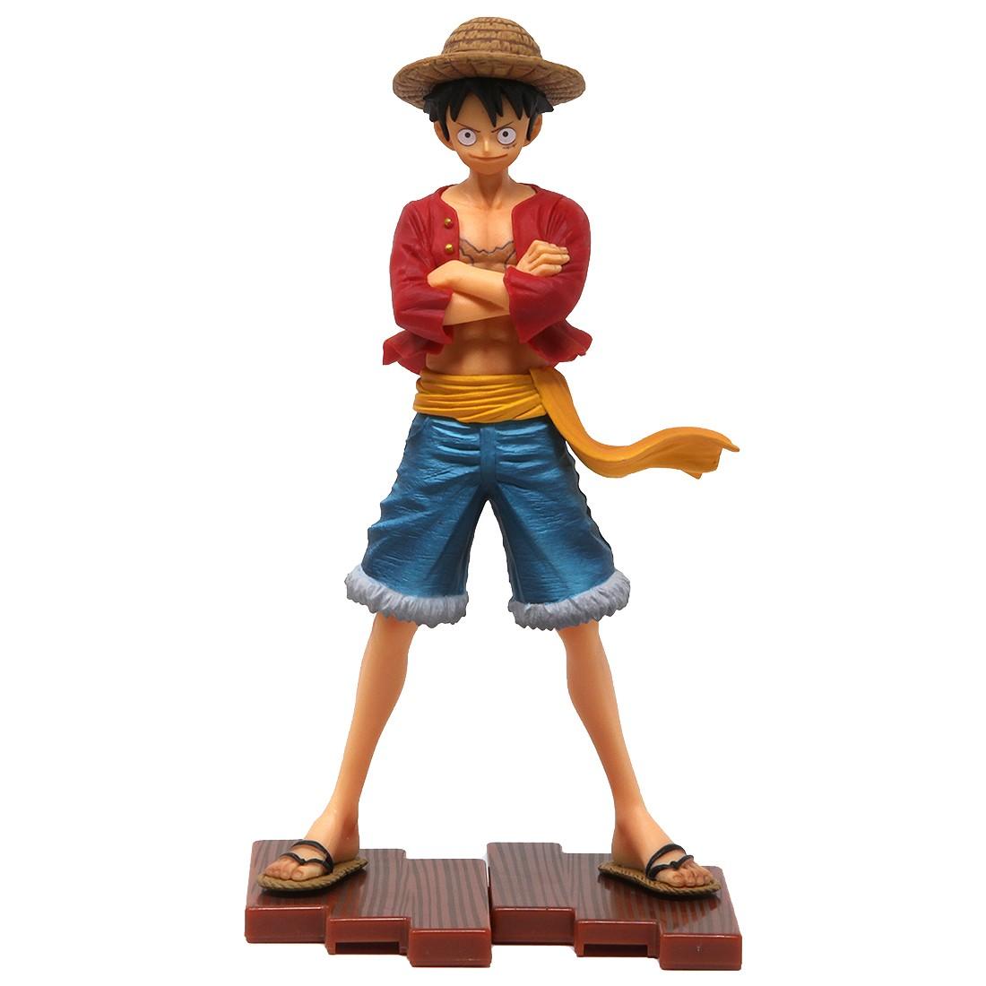 Bandai Figuarts Zero One Piece Straw Hat Luffy Figure (red)