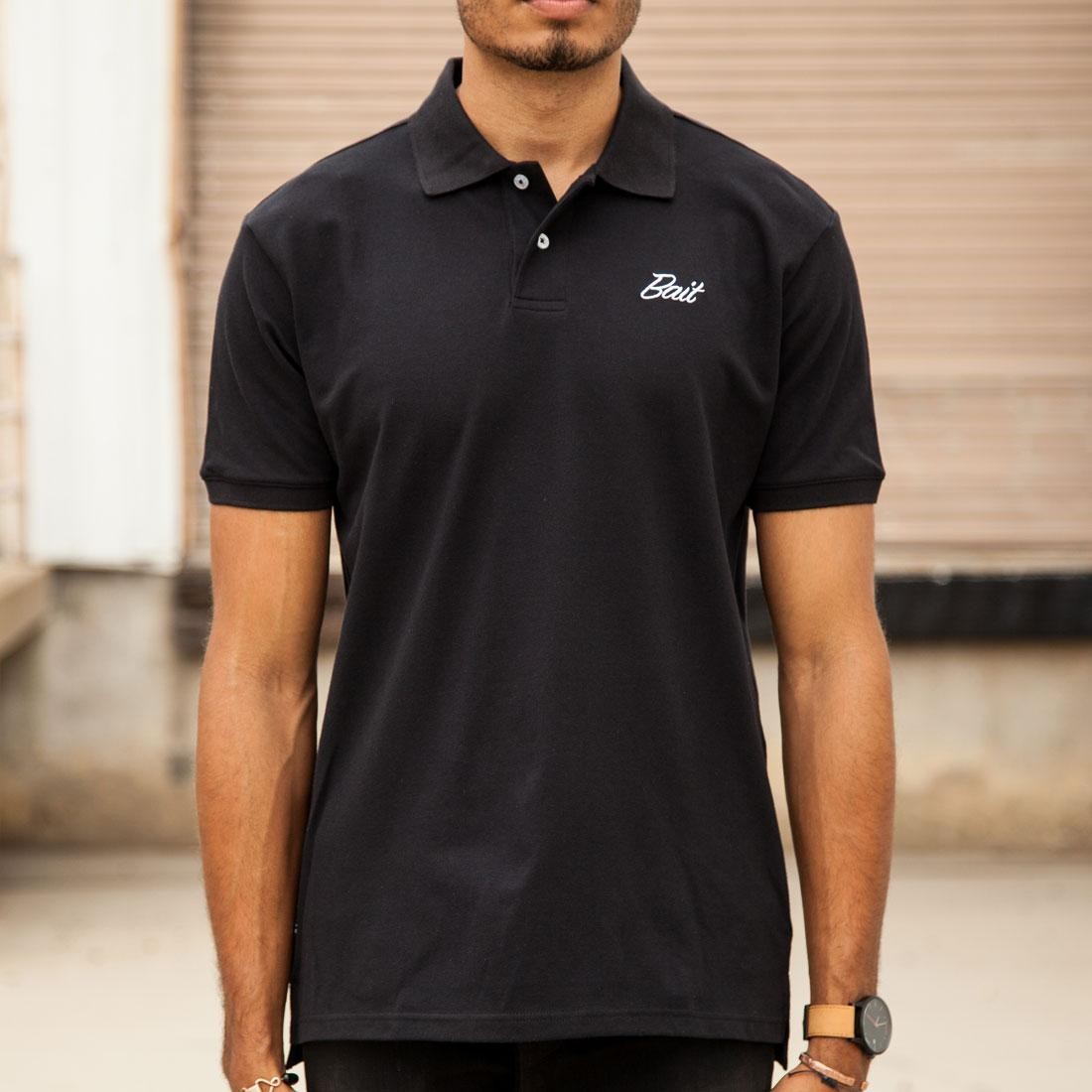BAIT Men Core Polo Shirt (black)