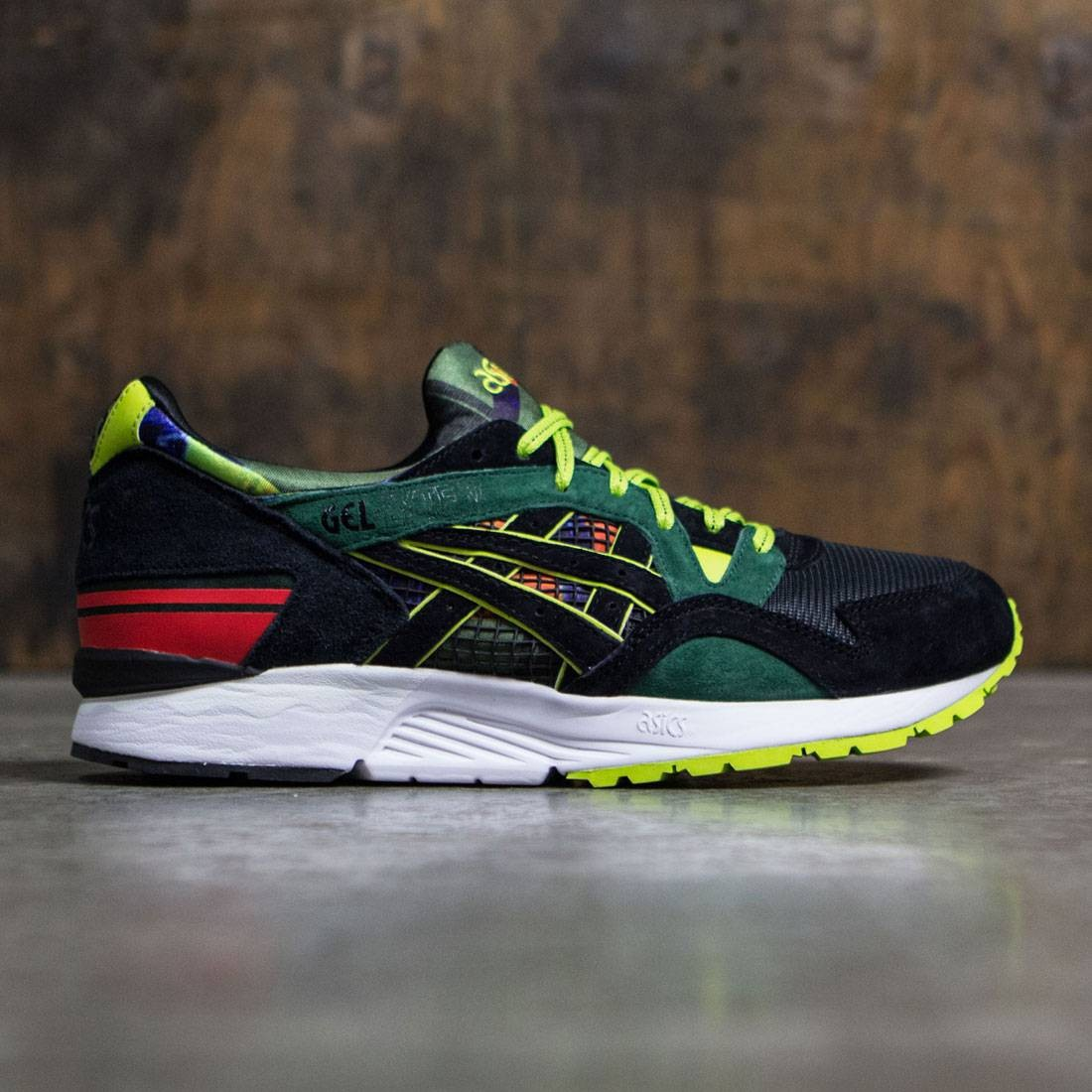 reputable site 0de64 122bf Asics x Mita x Whiz Limited Men Gel-Lyte V - Recognize (black / green /  yellow)