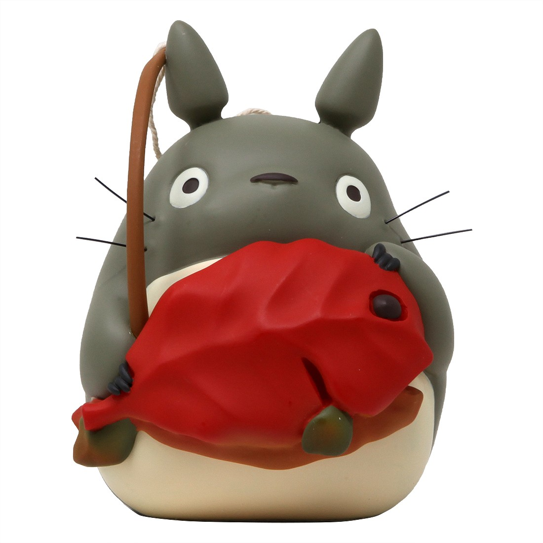 Studio Ghibli Benelic My Neighbor Totoro Good Luck Fishing Totoro Figure (gray)