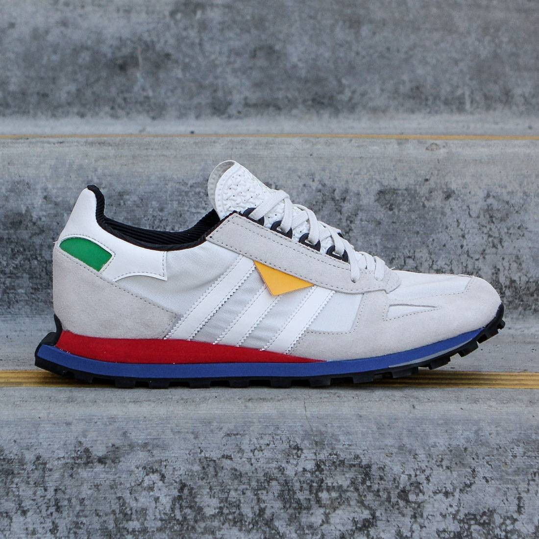 Adidas Men Racing 1 Prototype (white vintage white lush red)