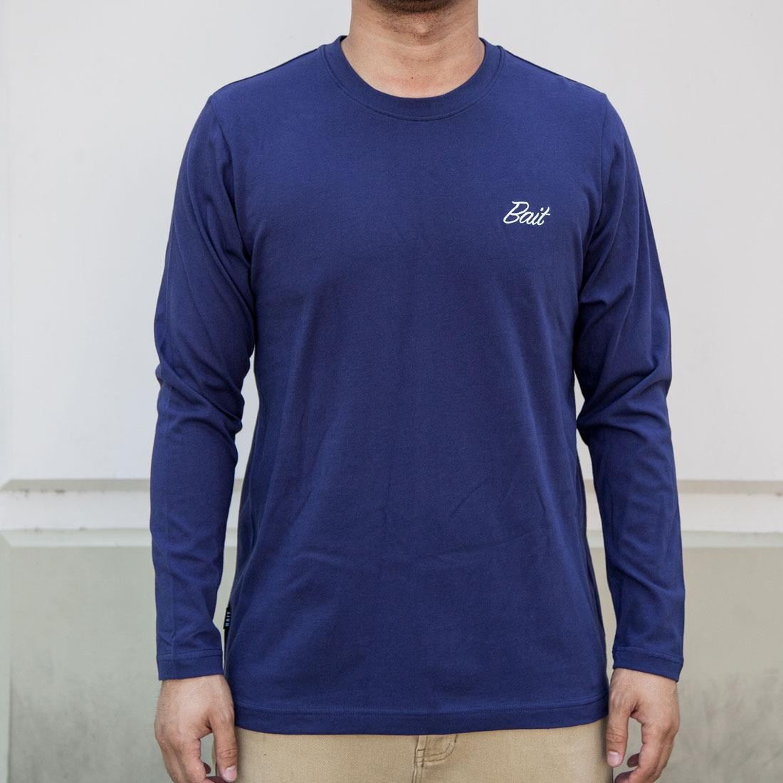 BAIT Men Core Long Sleeve Tee (navy)
