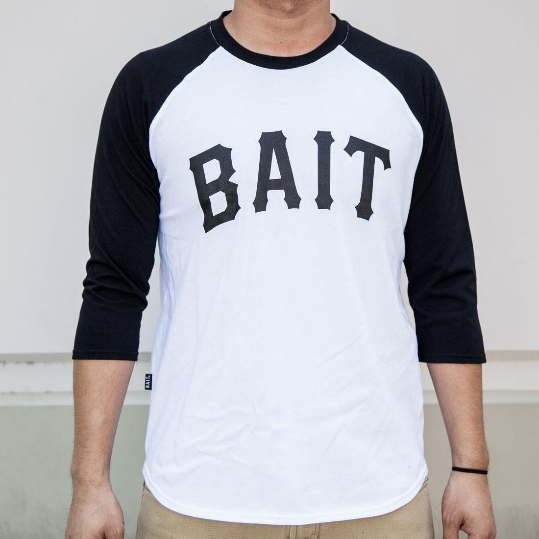 BAIT Men Core Raglan Tee (white / black)