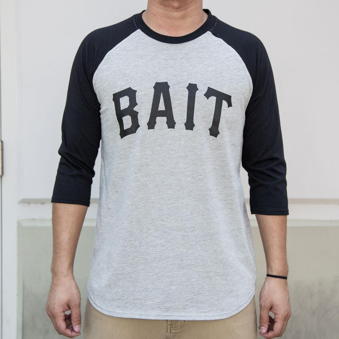 BAIT Men Core Raglan Tee (gray / black)