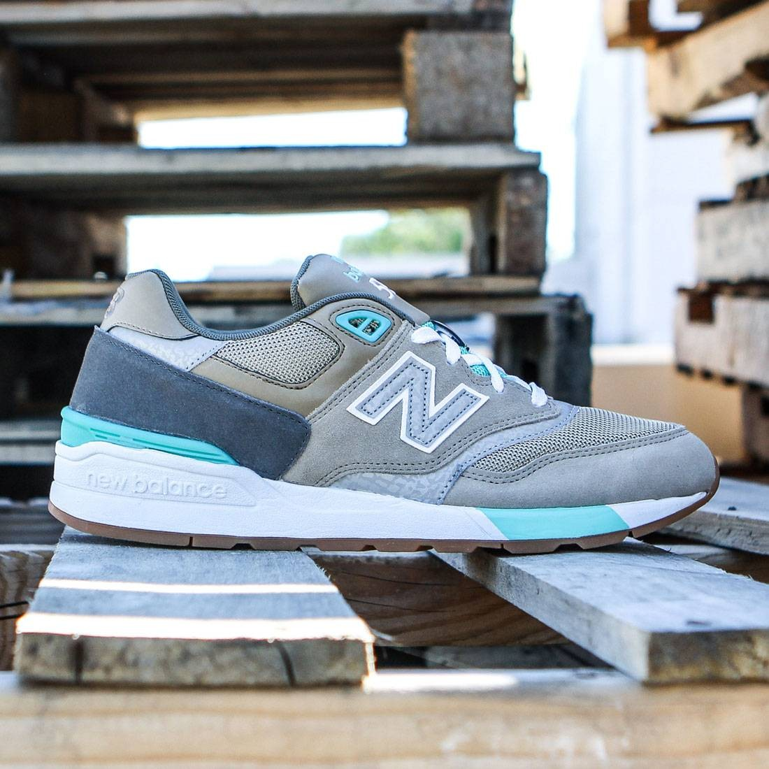 huge selection of 3e1b6 3bc82 New Balance Men 597 90s Traditional ML597NOC (brown / beach sand / teal)