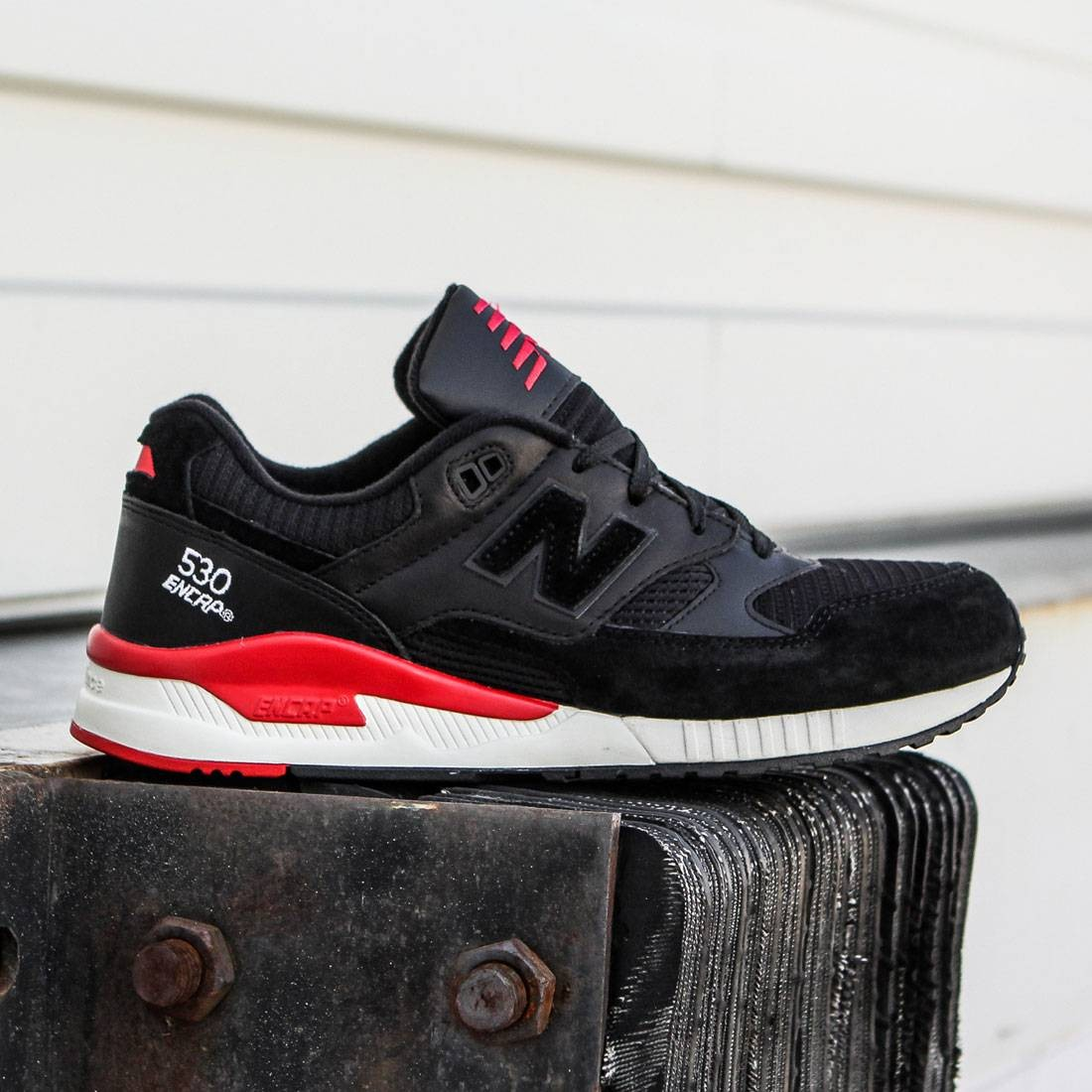 reputable site 776c1 3807c New Balance Men 530 Elite Edition Lost Classics M530LC (black / red)