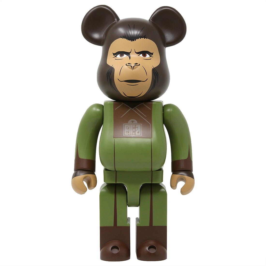 Medicom Planet Of The Apes Zira 400% Bearbrick Figure (green)