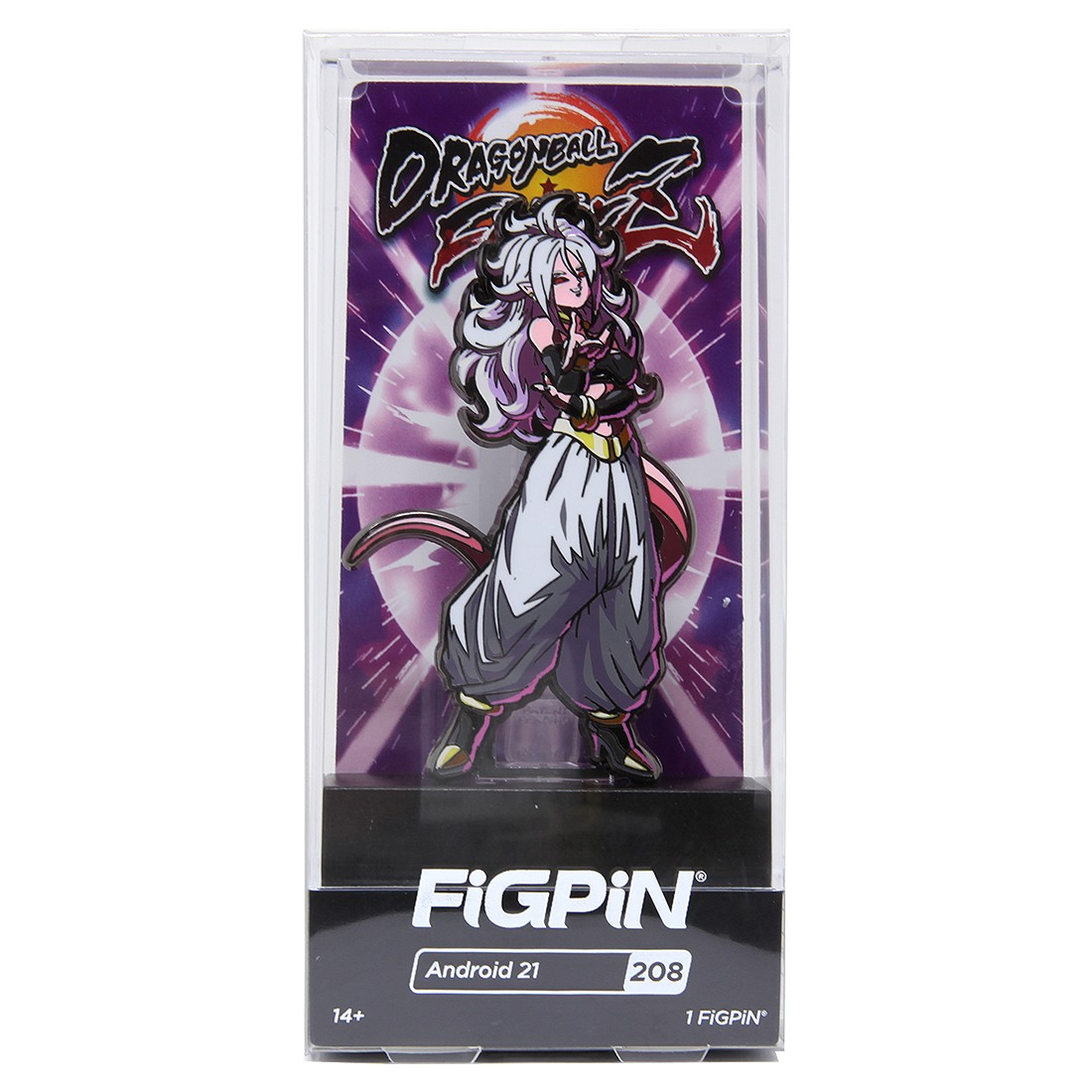 FiGPiN Dragon Ball FighterZ Android 21 #208 (white)