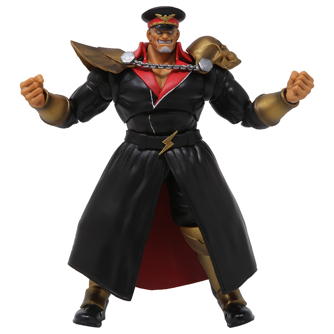 Storm Collectibles Street Fighter V M. Bison Battle Costume 1/12 Action Figure (black)
