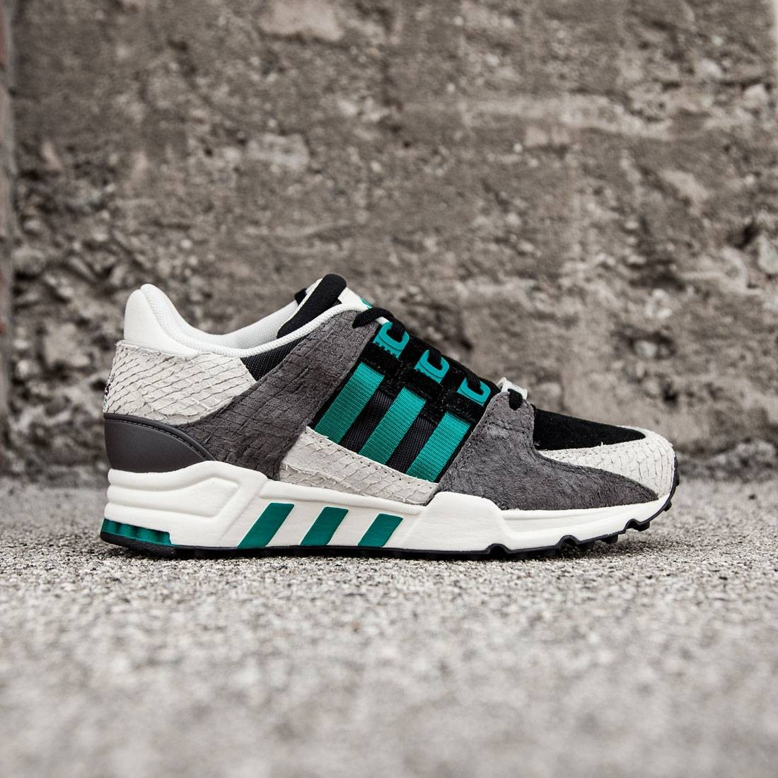 save off 12a1a f05e6 Adidas Women EQT Support 93 (black / core black / eqt green / off white)